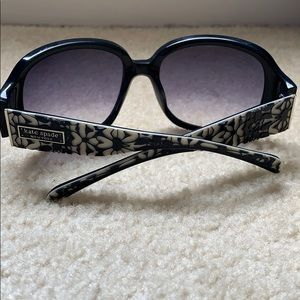 Kate Spade Kelley/s blue floral sunglasses
